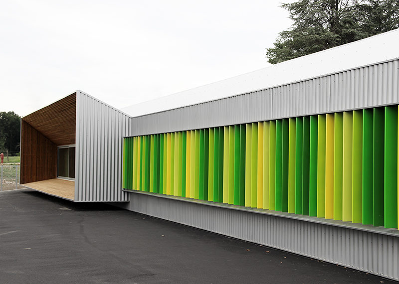 École primaire du développement durable — Schurdi-Levraud Architecture
